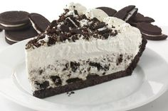 Cookies and Cream Pie Cookies And Cream Pie Recipe, Cream Pie Recipes, Frozen Desserts, Fun Desserts, Delicious Desserts, Oreo Cake, Oreo Cheesecake, Sweet Recipes, Cake Recipes