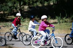 The 5 simplest ways to teach your child the most important bike skills.