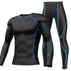 Mens gym #fitness compression top leggings sports #exercise #cycling base layers,  View more on the LINK: http://www.zeppy.io/product/gb/2/201577908704/
