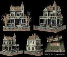 Bates house paper model