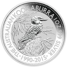 There is no coin more sought after from the Perth Mint than the Australian Silver Kookaburra. The coins in this series are available annually from the mint and were first released in th design released for the Australian Silver Kookaburra!