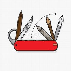 stock-illustration-23863068-designer-tools-as-swiss-army-knife.jpg (416×416)