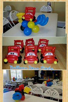 Centerpieces#disney cars#balloontwist#decoration