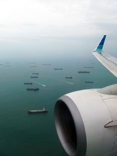 GA 842 on final approach at SIN. - Photo taken at In Flight in Singapore on February Airplane Wallpaper, Travel Wallpaper, Disney Wallpaper, Airplane Window, Airplane View, Airplane Photography, Travel Photography, Garuda Airlines, Kaws Iphone Wallpaper