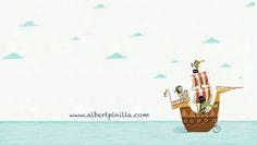 Barco Pirata Albert Pinilla