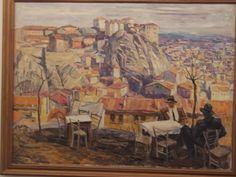 View of Plovdiv. Sliven gallery of art. Boris Denev / Пловдив. художествена галерия гр. Сливен. Борис Денев