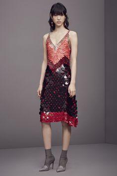 #Altuzarra #PreFall Look 19 - 'Gilda' Dress in Black Polka Dot. Shop now at…