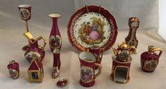 Online veilinghuis Catawiki: Limoges France - 14 Limoges porseleinen miniaturen