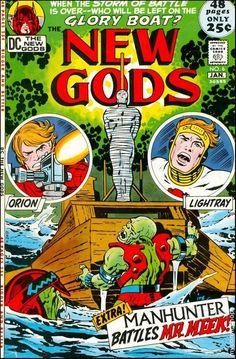 NEW GODS 6, JACK KIRBY, SILVER AGE DC COMICS