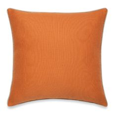 The modern Solana toss pillow adds a punch of color to your home with a vibrant hue on soft, textured fabric. Pillow reverses to a faux-linen back. Toss Pillows, Bed Pillows, Circle Mirrors, Hue, Bath, Texture, Interior, Fabric, Color