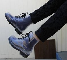clear doc martens