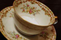 antique tea cup by foxrosser, via Flickr