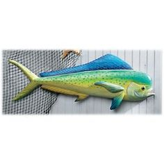 T. I. Design Handcrafted Wood and Metal Artwork - Mahi Wall Art