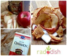 Its fall harvest season and apples are abundant.Use extra apples for a fun and nutritious after school snack!These chips make...