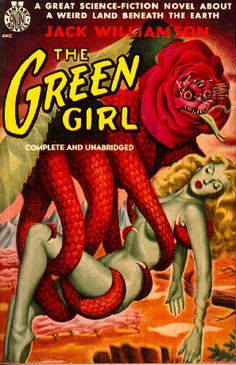 B-Movie Monsters Carrying Dames: I actually had to stop collecting images with this theme long ago because it is entirely TOO prevalent. In bygone days of cinema, many a women fainted limply in the arms of a fantastical creature.