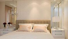 cama com cabeceira de couro