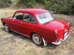 1962 Volkswagen Type 3 Notchback - Sadly they didn't make as many of these as they did the Squareback and the Fastback.