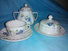 Peças para chá da marca Pozzani - museu Fragmentos do Tempo
