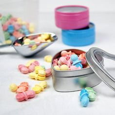 Pastel Sweet Tart Pacifier Candy by Beau-coup
