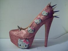 Not sure about the spikes but LOVE the Hello Kitty.