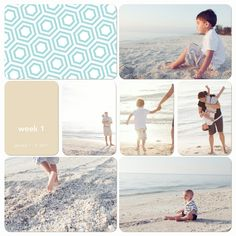Playing catch up with project life digitally- with adjustments this could be a cute 12x12 paper layout
