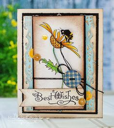 Michele Kovack: Thoughts of a Cardmaking Scrapbooker!: Best Wishes - 7/28/14