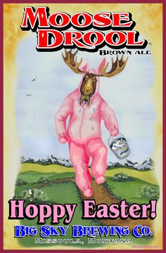 Big Sky Brewing Company Easter Poster
