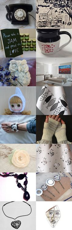 Black and White  by Krasimir on Etsy
