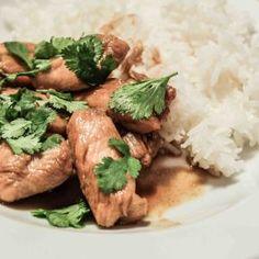 Easy chicken teriyaki Rice Wine, Teriyaki Chicken, Fish Sauce, Favorite Recipes, Homemade, Cooking, Sweet, Easy, Food