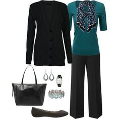 >> Have a look at Work Outfit, Plus Measurement Outfit