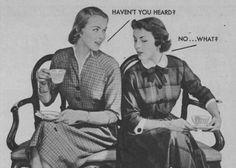 Gossip Girls, 1951 (Niagra Laundry Starch)