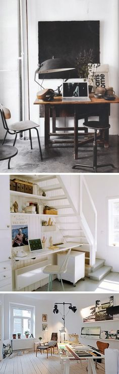 Love using the space under the stairs.