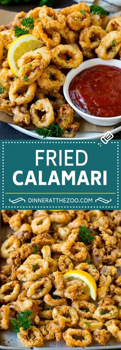 Fried Calamari Recipe Seafood Appetizers Seafood Appetizers Appetizers Appetizers for a crowd Appetizers parties Appetizers For A Crowd, Seafood Appetizers, Seafood Dinner, Yummy Appetizers, Appetizer Dinner, Appetizer Recipes, Dinner Recipes, Italian Appetizers, Calamari Recipes