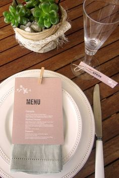Image result for paper wedding table settings