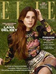 Lana Del Rey Is ELLE UK's June 2017 Cover Star
