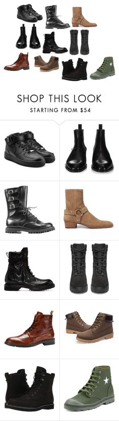 """marshallsworld"" by marshall-phillips on Polyvore featuring NIKE, Givenchy, Commando, Yves Saint Laurent, Rick Owens, Yeezy by Kanye West, Jack & Jones, Timberland, men's fashion and menswear"