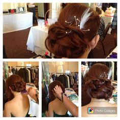 Bridal / party hair by Ria - senior stylist