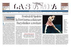 """25 aprile 2013  La Stampa - presentazione del Festival di Spoleto 2013 - 56esima edizione. SiciliaTeatro è presente con lo spettacolo """"Dopo il SIlenzio"""""""