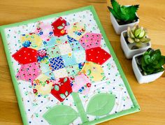 Monthly Mini Quilt for June... my Square Dance Daisy (fabric giveaway too!) — SewCanShe | Free Daily Sewing Tutorials