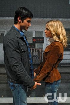 """""""In The Beginning"""" -Matt Cohen as John Winchester and Amy Gumenick as Mary Winchester  in SUPERNATURAL on The CW. Photo: Sergei Bachlakov/The CW �2008 The CW Network, LLC. All Rights Reserved.pn"""