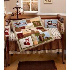 Cutest woodland bedding set ever! By Eddie Bauer, at Amazon, unfortunately $165.