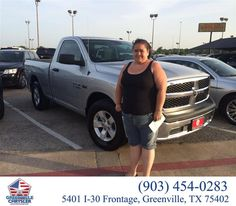 https://flic.kr/p/JNegqY | Happy Anniversary to Kathryn on your #Ram #1500 from Steve Han at Greenville Chrysler Jeep Dodge Ram! | deliverymaxx.com/DealerReviews.aspx?DealerCode=J122