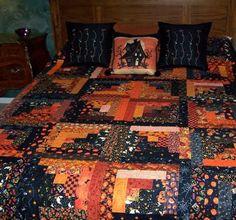 halloween quilt.