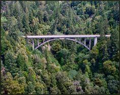 Actually it's in Mendocino, close enough... Leggett Bridge
