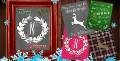 Special Deal on Jane.com! Cute Customizable Christmas Prints! *BOGO SPECIAL* Personalized Festive Holiday Printables
