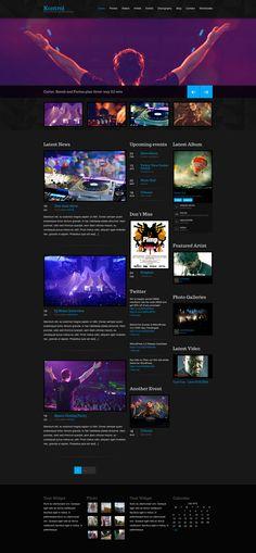 Kontrol I Music Theme for WordPress