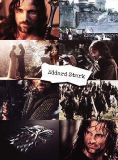 Eddard Stark by Franky-Malfoy on DeviantArt Game Of Thrones History, Got Game Of Thrones, Game Of Thrones Funny, Game Of Thrones Pictures, Game Of Thrones Artwork, Got Stark, Bran Stark, Got Jon Snow, Eddard Stark