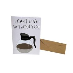 Can't Live Without You Card