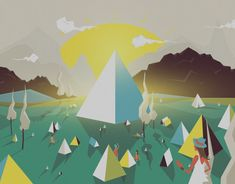 """Check out this @Behance project: """"BBC Glastonbury"""" https://www.behance.net/gallery/11152255/BBC-Glastonbury"""