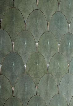 Shagreen Scales More Tiles Floor Patterns, Tile Patterns, Textures Patterns, Wall Finishes, Decoration Design, Wall Treatments, Tile Design, Textured Walls, Interior Inspiration